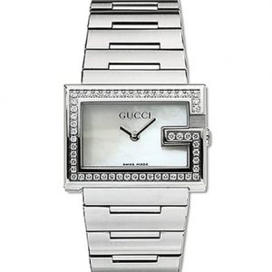 100-G-Mother-of-Pearl-Dial-Stainless-Steel-Diamond-0