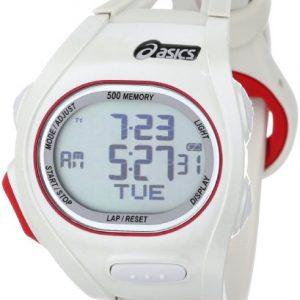 ASICS-CQAR0104-Reloj-unisex-con-correa-de-goma-color-blanco-gris-0