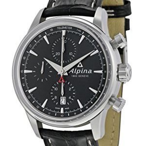 Alpina-Alpiner-Chronograph-Automatic-Stainless-Steel-Mens-Strap-Watch-Calendar-AL-750B4E6-0