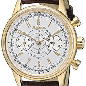 Alpina-Geneve-Alpina-130-Heritage-Pilot-Chronograph-AL-860S4H5-Reloj-para-hombres-Alpina-Rotor-0