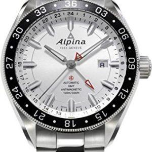 Alpina-Geneve-Alpiner-GMT-4-Reloj-Automtico-para-hombres-Segundo-Huso-Horario-0