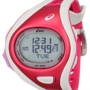 Asics-Unisex-CQAR0311-Challenge-Regular-Red-White-Digital-Running-Reloj-0