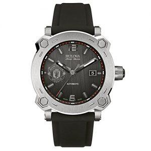 Bulova-Accu-Swiss-Perchern-Reloj-Automtico-de-Hombre-con-esfera-analgica-Azul-Pantalla-y-negro-correa-de-silicona-63b199-0