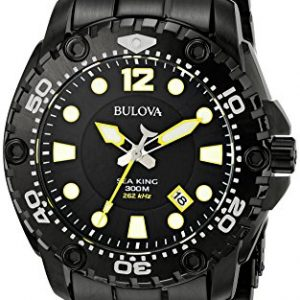 Bulova-Sea-King-eysse-reloj-analgico-de-cuarzo-de-acero-inoxidable-98B242-0