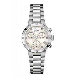 Bulova-reloj-de-pulsera-para-mujer-con-crongrafo-de-acero-inoxidable-diamond-96W202-0