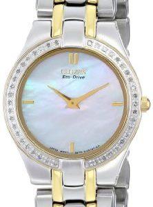 Citizen-EG3154-51D-Reloj-analgico-de-cuarzo-para-mujer-correa-de-acero-inoxidable-color-plateado-0