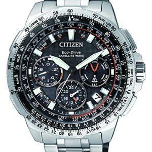 Citizen-Eco-Drive-Satellite-Wave-CC9020-54E-Reloj-de-titanio-0
