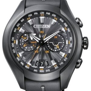 Citizen-Promaster-Sky-Satellite-Wave-Air-Reloj-de-cuarzo-para-hombre-correa-de-goma-color-negro-0