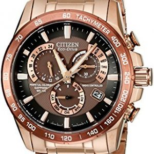 Citizen-Watch-AT4106-52X-Reloj-analgico-de-cuarzo-para-hombre-correa-de-acero-inoxidable-chapado-en-oro-rosa-color-oro-rosa-0