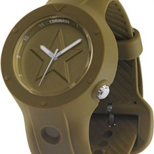 Converse-R1151100095-Reloj-con-correa-de-caucho-para-hombre-color-verde-gris-0
