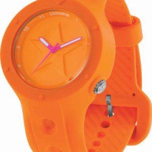 Converse-VR001-800-Reloj-analgico-unisex-de-cuarzo-con-correa-de-silicona-roja-sumergible-a-50-metros-0