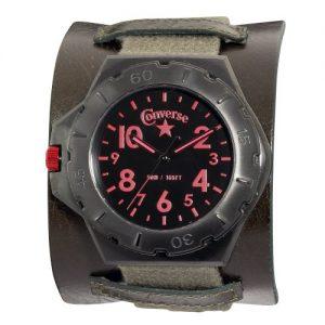 Converse-VR006-305-Reloj-analgico-de-cuarzo-para-hombre-correa-de-cuero-color-marrn-0