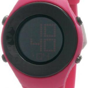 Converse-VR007-670-Reloj-con-correa-de-piel-para-mujer-color-negro-gris-0