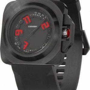 Converse-VR018001-Reloj-para-hombres-correa-de-silicona-color-negro-0