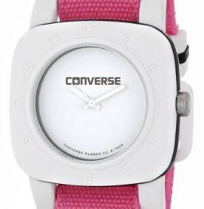 Converse-VR021-690-Reloj-analgico-de-cuarzo-para-mujer-con-correa-de-tela-color-rosa-0