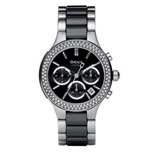 DKNY-Broadway-Chrono-NY8180-Reloj-para-mujeres-correa-de-diversos-materiales-color-negro-0