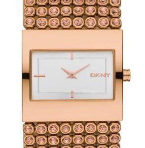 DKNY-NY8446-Reloj-para-mujeres-correa-de-acero-inoxidable-color-oro-rosa-0