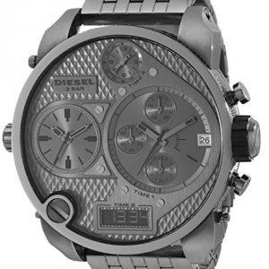 Diesel-DZ7247-Reloj-analgico-y-digital-de-cuarzo-para-hombre-con-correa-de-acero-inoxidable-color-gris-0-0