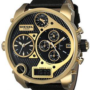 Diesel-DZ7323-Reloj-para-hombres-correa-de-cuero-color-negro-0-1