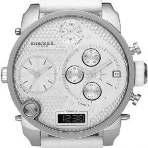 Diesel-Mr-Daddy-Multi-Movement-DZ7194-Reloj-analgico-digital-de-cuarzo-para-hombre-correa-de-cuero-color-blanco-cronmetro-0-0