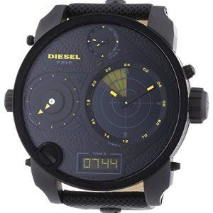 Diesel-Reloj-Analgico-Digital-de-Cuarzo-para-Hombre-correa-de-Cuero-color-Negro-0-0