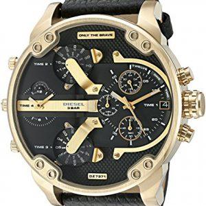 Diesel-Watches-Mr-Daddy-20-Dos-Mano-Reloj-con-correa-de-piel-0-0