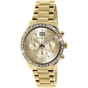 El-reloj-de-las-mujeres-de-Michael-Kors-de-cuarzo-de-oro-de-acero-inoxidable-profesionalizando-MK6187-0
