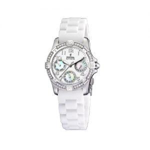 FESTINA-F16021D-Reloj-de-mujer-de-cuarzo-correa-de-plstico-color-blanco-0
