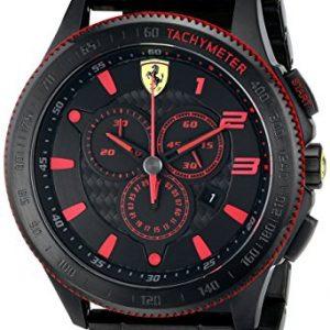 Ferrari-De-los-hombres-Analgico-Dress-Cuarzo-Reloj-0830142-0