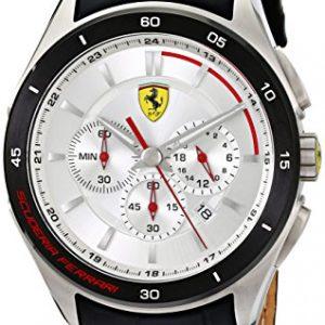 Ferrari-De-los-hombres-Analgico-Dress-Cuarzo-Reloj-0830186-0