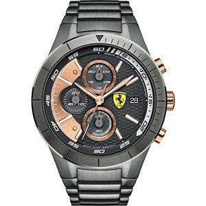 Ferrari-Scuderia-cronografo-Reloj-deportivo-para-hombre-modelo-FER0830304-Red-0