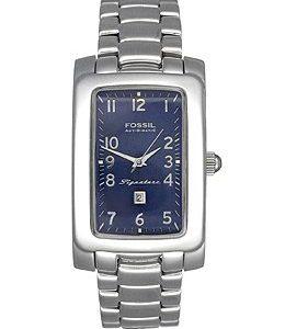 Fossil-SI001-Reloj-correa-de-acero-inoxidable-chapado-color-metalizado-0