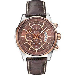 GC-X81001G1S-Reloj-de-pulsera-hombre-piel-color-marrn-0