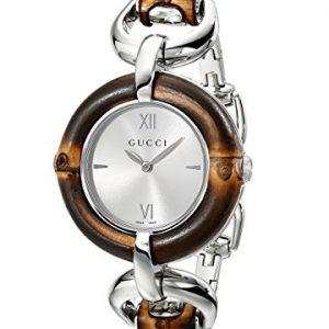 Gucci-BAMBOO-YA132403-Reloj-para-mujeres-correa-de-acero-inoxidable-color-plateado-0