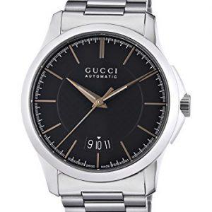 Gucci-G-TIMELESS-Reloj-automtico-para-hombre-correa-de-acero-inoxidable-color-plateado-0