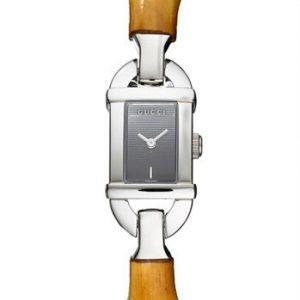 Gucci-YA068518-Reloj-de-pulsera-mujer-color-marrn-0