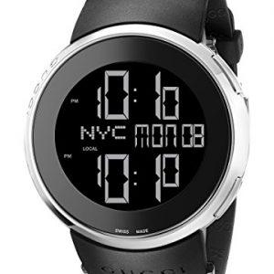 Gucci-YA114202-Reloj-unisex-correa-de-goma-color-negro-0