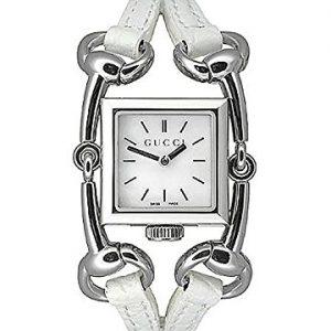 Gucci-YA116504-Reloj-de-cuarzo-blanco-con-correa-de-piel-cristal-zafiro-sinttico-0