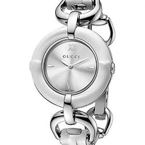 Gucci-YA132406-Reloj-para-mujeres-correa-de-acero-inoxidable-color-plateado-0