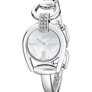 Gucci-YA139504-Reloj-de-cuarzo-para-mujer-con-correa-de-acero-inoxidable-color-plateado-0