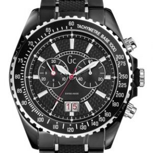Guess-Collection-GC-Sport-Class-46001G2-Reloj-analgico-de-mujer-de-cuarzo-con-correa-de-acero-inoxidable-negra-0