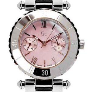 Guess-Reloj-de-pulsera-mujer-acero-inoxidable-color-plateado-0