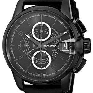 Hamilton-H40686335-Reloj-de-pulsera-hombre-piel-0-3