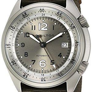 Hamilton-Khaki-Aviation-de-hombre-de-acero-inoxidable-y-lienzo-automtico-suizo-reloj-de-vestido-color-verde-Modelo-h80405865-0-1