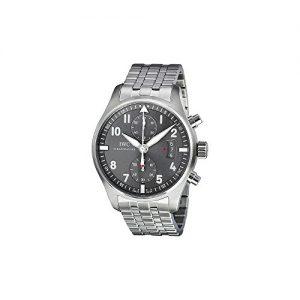IWC-IW387804-Reloj-correa-de-acero-inoxidable-color-plateado-0