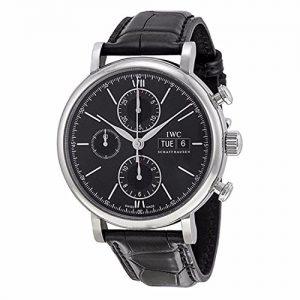 IWC-IW391008-Reloj-para-hombres-correa-de-cuero-0