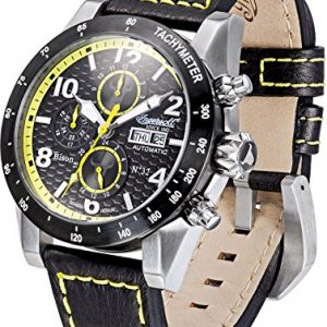 Ingersoll-61014-Reloj-para-hombres-correa-de-cuero-color-negro-0