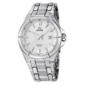 Jaguar-J6691-Reloj-de-caballero-automtico-swiss-made-cristal-zafiro-y-cadena-de-acero-0