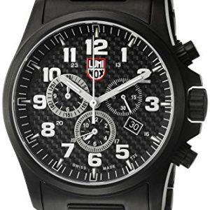 LUMI-NOX-1942-Reloj-correa-de-acero-inoxidable-color-gris-0