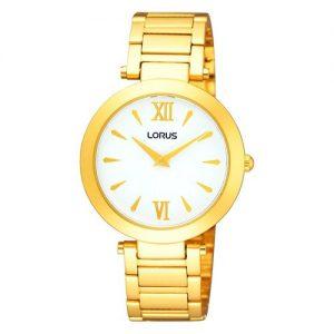 Lorus-RRW76DX9-Reloj-con-correa-de-piel-para-mujer-color-blanco-gris-0